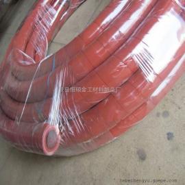 河北景县橡胶管厂家-红色夹布硅胶管夹线耐高温硅胶管