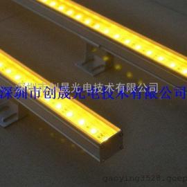 *生产黄光线条灯图片