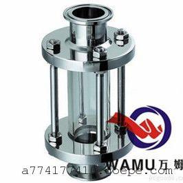 温州万姆 SUS304/316卫生级管道直通视镜