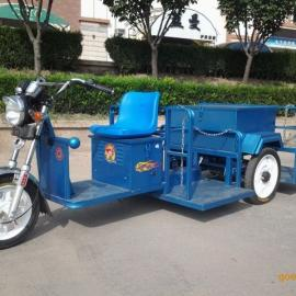 定做电动挂四桶垃圾车、街道垃圾车