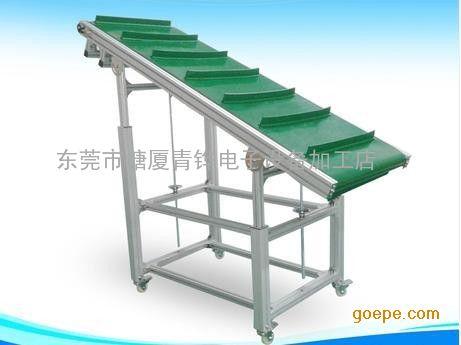 佛山桌面输送机 单斜式输送机传送带生产厂家