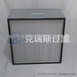 供应无隔板亚高效过滤器1220×610×69高效空气过滤器厂家直销