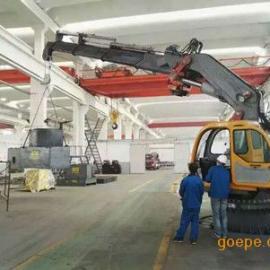 上海邦鼎BANGDING折臂式伸缩船用吊机