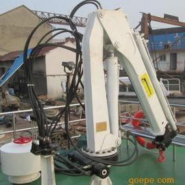 上海邦鼎BANGDING海事船液压伸缩吊机1吨15米