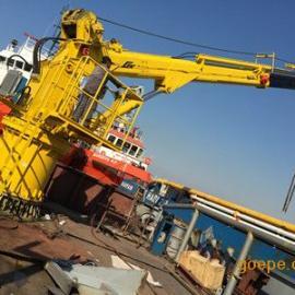 上海邦鼎BANGDING25吨15米液压伸缩船用起重吊机
