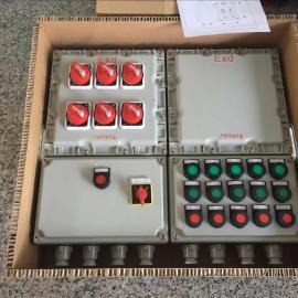 防爆机动阀作用力配电箱