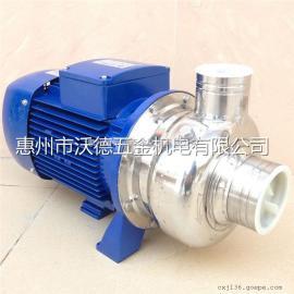 沃德耐高温120度热水循环泵 半开叶轮豆浆泵WDK-100