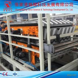 PVC塑料仿古瓦设备 张家港格瑞科技 塑料瓦机器设备生产线