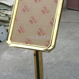 [告示牌]徐州不锈钢广告牌定做 户外钛金海报宣传牌批发