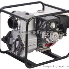 本田动力4寸汽油泥浆泵,WT-40HX,4寸汽油泥浆泵 下水道排污泵
