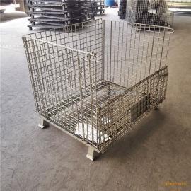 深圳物流配送折叠式铁笼