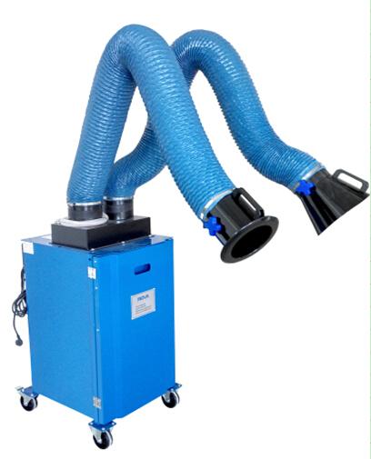 2018净化专用半自动式移动式烟尘净化器价格