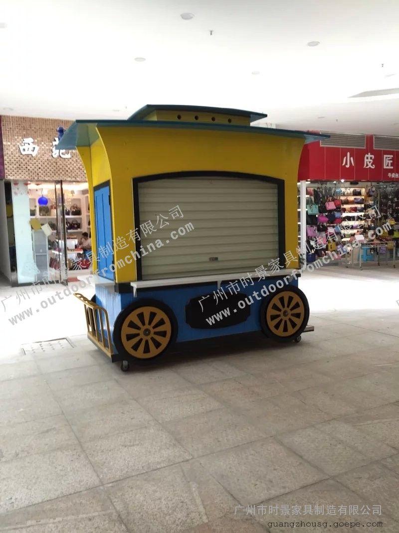 蚌埠商业街售货车,上海游乐园卡通售卖亭,重庆步行街贩卖花车
