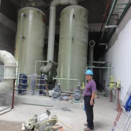 6吨锅炉烟气脱硫脱硝塔(双碱法脱硫塔)
