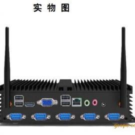 嵌入式固态硬盘多网口触摸屏PLC防震微型无风扇一体化工控机