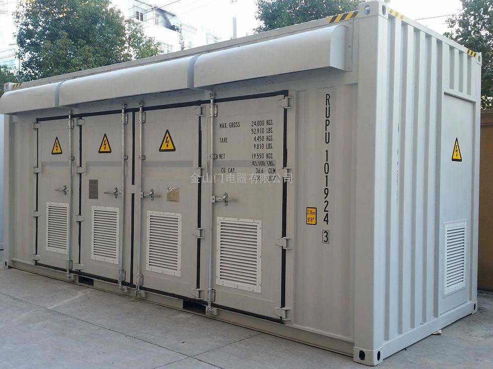 光伏发电用组合式变压器,预装式变电站图片