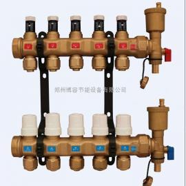 博容智能可做分室温控高端DN32口径分水器博容F1