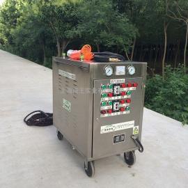 CWD16A手推车蒸汽洗车机手推车型(双蒸汽枪、单微水枪)