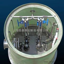 格兰富一体化污水提升预制泵站