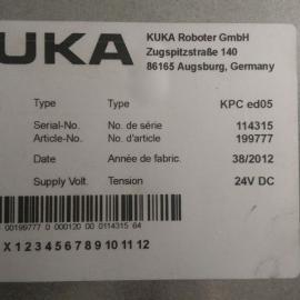KPC ed05 KUKA机器人主机 工控电脑故障维修