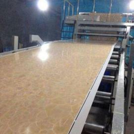uv装饰板生产设备 仿大理石板设备
