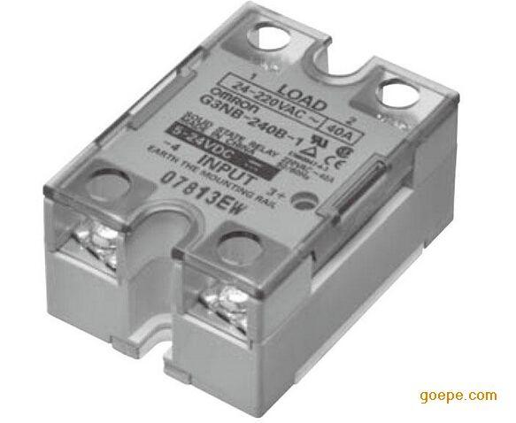 欧姆龙g3nb-205b-1固态继电器图片