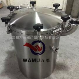 储罐订制加高人孔 高大上SUS304/316卫生级人孔