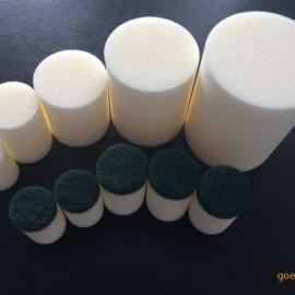 供应12-14mm管道清洗海绵弹/清洁海绵球/海绵射弹/管道清洗枪/气&
