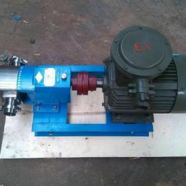 LX凸轮转子泵高粘度流体专用泵