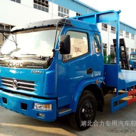 东风多利卡4700平板运输车、平板拖车、平板车、挖机运输车