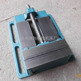 简易迷你2.5寸美式平口钳 台钻 电钻专用平口钳