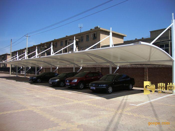 湛江停车棚设计/茂名停车棚安装/揭阳汽车停车棚图片