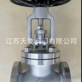 美标不锈钢截止阀J41W-300LB
