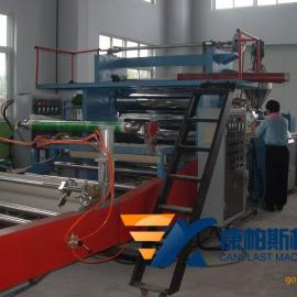 PVC仿大理石板生产线 UV装饰板生产线