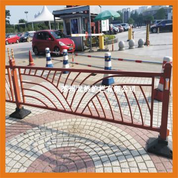 金华花式道路护栏 弧形道路护栏 镀锌钢喷塑护栏/厂家图片