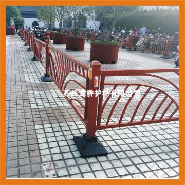 镇江景区道路护栏 镇江公园道路隔离栏 花式弧形 龙桥图片