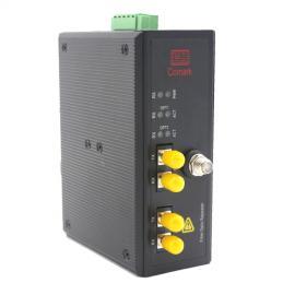深圳讯记 代替施耐德 S908 RIO 总线数据光端机
