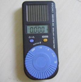 一款永不断电的日置3245-60太阳能万用表
