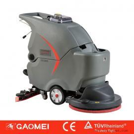 常州工厂用洗地机|高美手推式电动洗地机GM50B