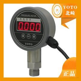 YOTO北崎电气厂家直销 数字压力表价格 高精度压力表PG808E