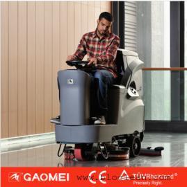 无锡大型驾驶式洗地机 高美驾驶型洗地机GM110BT85