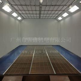 哪里有汽车喷漆房、无尘喷漆房卖?广州强鑫厂家直销