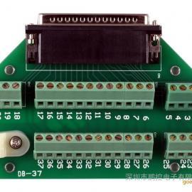 泓格DB-37 37针D型插头螺钉端子板