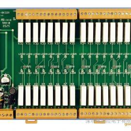 泓格DN-8K32R 32路继电器输出板