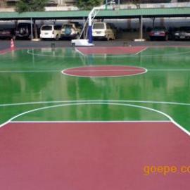 清远篮球场地面漆、彩色球场涂料