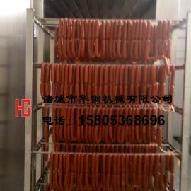 供应诸城华钢250蒸熏炉/烤肠加工设备