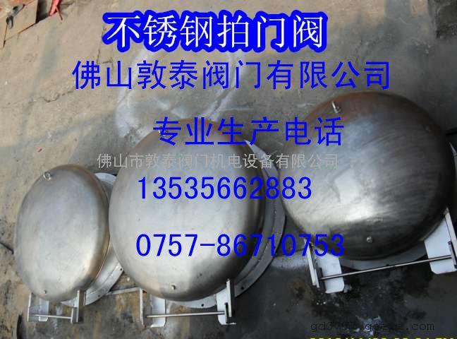 专业生产不锈钢拍门阀