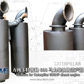 优质的【柴油机发电机组排气消声器】蓝宇净化提供