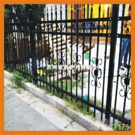 无锡防护栅栏 建筑护栏 锌钢喷涂组装式护栏 龙桥厂家定制