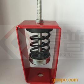 吊装设备减振器|XZH型阻尼弹簧吊式减振器|风机盘管减振器